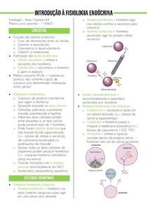Introdução à fisiologia endócrina