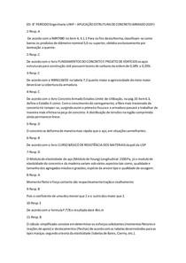 ED- 8° PERÍODO Engenharia-UNIP APLICAÇÃO ESTRUTURA DE CONCRETO ARMADO (EDIF)