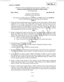 DESIGN OF REINFORCED CONCRETE STRUCTURES Exercices - Concreto - 2