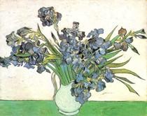 Vincent Willem van Gogh-ainda-vida de vaso-com-Irises