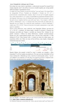 Arco Triunfal de Adriano em Gérasa