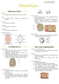Glossário odontológico