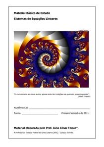 Mat Ensino - Sistemas Lineares 2011-02-01