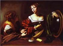 caravaggio - A conversão de Maria Madalena