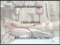 tratamento de hemodialise e dialise