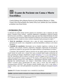 Estado de consciencia Unicamp