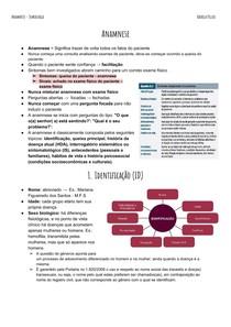 Anamnese - Semiologia I