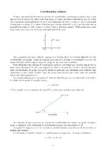 Aula 16: Sistemas de coordenadas polares