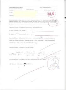 AV1 Cálculo 2