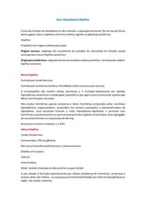 2-Eixo Hipotálamo-Hipófise