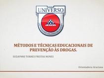 Métodos e técnicas educacionais de prevenção às drogas 1
