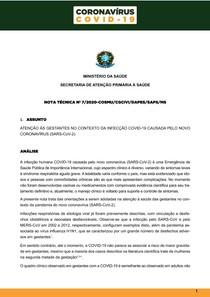 OBSTETRÍCIA COVID-19 2020