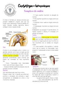 Cinesiologia e biomecânica do ombro