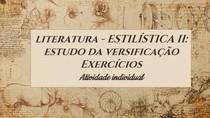 ATIVIDADE Literatura Google ClassroomSEM GABARITO