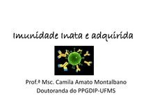 Imunologia_Imunidade Inata e adquirida