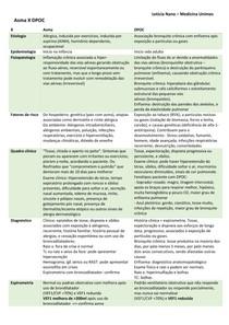 asma X DPOC tabela