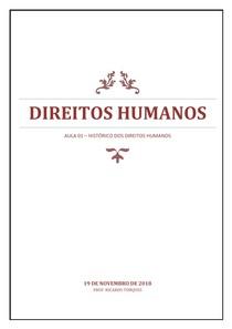 Direitos Humanos - AULA 01