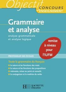 Albert Hamon-Grammaire et analyse _ Analyse grammaticale et analyse logique-Hachette Education (2007)