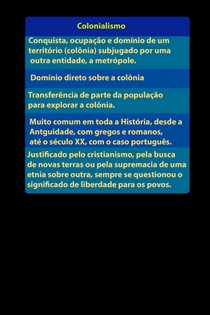 História do Brasil: Brasil Colônia   Colonialismo