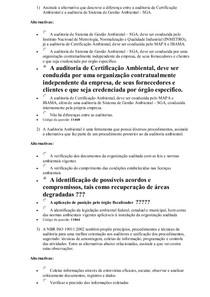 AV 1 A Auditoria Ambiental