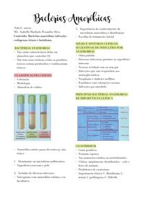 Bactérias Anaeróbicas