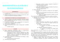 Bioenergética, glicólise e gliconeogênese