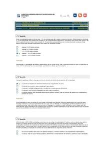 ASPECTOS ANTROPOLÓGICOS E SOCIOLÓGICOS DA EDUCAÇÃO