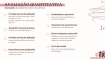 Avaliação Quantitativa e Qualitativa