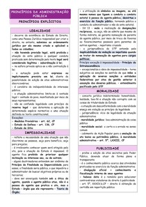 RESUMO - DIREITO ADMINISTRATIVO - 03 - PRINCÍPIOS DA ADMINISTRAÇÃO PÚBLICA - LIMPE