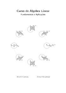 Curso de Álgebra Linear  Fundamentos e Aplicações  Marco Cabral e Paulo Goldfeld