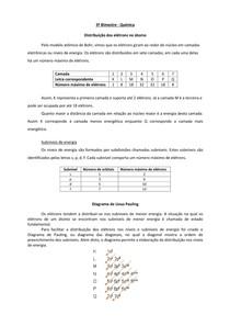 Distribuição eletrônica - Diagrama de Pauling - Química