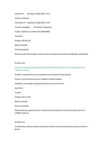 Diretrizes para a notificação em caso de contaminação por Covid-19.