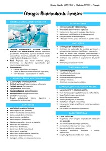 3- Cirurgias Minimamente Invasivas - Mirian