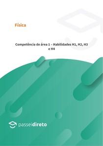 Competência de área 1 Habilidades H1, H2, H3 e H4