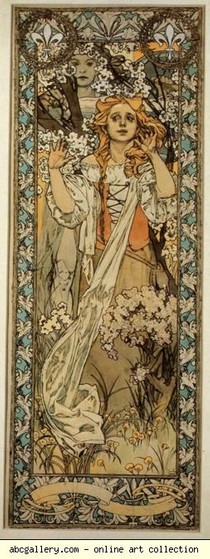 Alphonse Mucha -. Joana d'Arc (Maude Adams) jpg