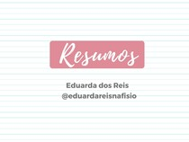 Glicólise - Bioquímica - @eduardareisnafisio