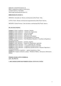 DIREITO CONSTITUCIONAL II- MATERIA