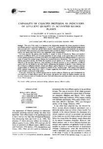 capability of ciliated protozoa