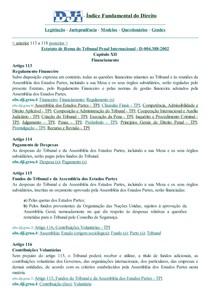 DJi - 113 a 118 - D-004.388-2002 - Estatuto de Roma.Tribunal Penal Internacional