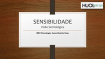 Sensibilidade - Slides pronto!