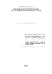 PENTEADO, F. R. O teatro de Pessoa e a gramática shakespeariana