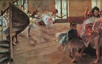 Edgar Degas - The Rehearsal Of Ballet