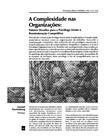 Tractenberg - A complexidade nas organizações
