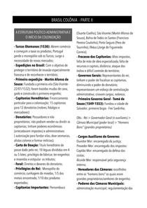 História do Brasil - Brasil Colônia II - O início da colonização, a empresa açucareira e os tratados limites