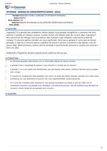 ATIVIDADE - SEMANA DE CONHECIMENTOS GERAIS - 2021A