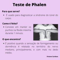 Ortopedia - Teste de Phalen