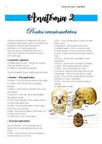 PONTOS CRÂNIOMETRICOS