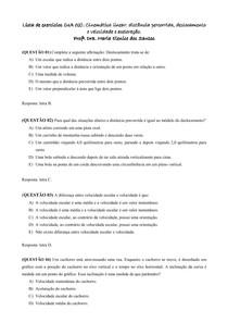 Lista UA 2_Cinemática linear _ deslocamento_velocidade e aceleração