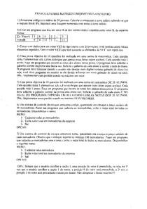 Introdução à Programação C - Lista de Exercícios - Vetores