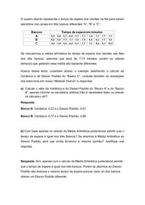 AP4 Probabilidade e estatística